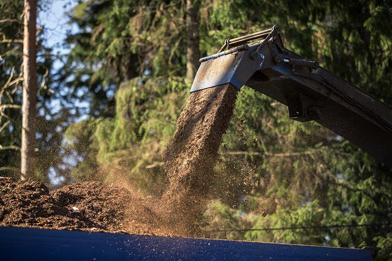 Westas hyödyntää hakkuutähteet uusiutuvan bioenergian valmistamiseen.