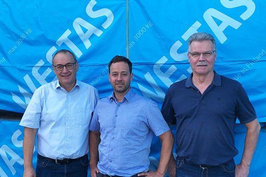 Burkhard Fink Profi Holz Finkiltä on tyytyväinen yhteistyöhön Westaksen kanssa.