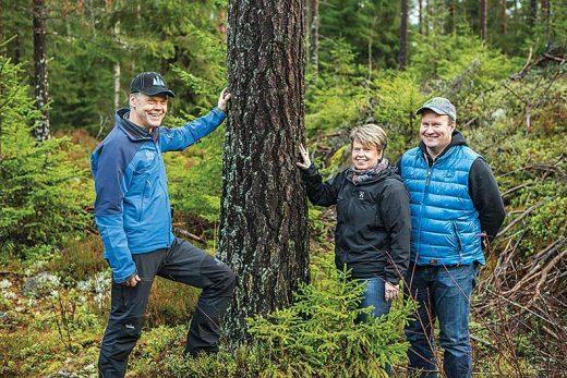 Yli-Jamat tekivät puukaupat Westaksen Seppo Kuusiston kanssa.